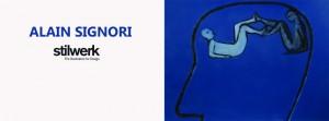 Einladungskarte Signori - außen; Maße: 105 mm hoch, 2x148 mm breit; mittig falzen